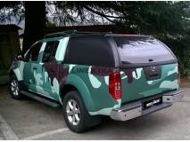 Hard-Top Nissan Navara D40 W/O Windows Linextras