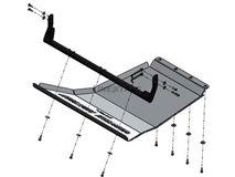 [113.VWA 124] UNDERBODY PROTECTION ENGINE+BARS+RAD. ALUMINUM VW AMAROK