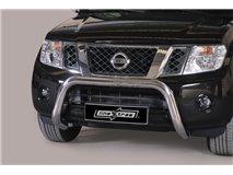 [49.NPF1 25/I] Big Bar U Inox 76Mm Nissan Pathfinder 2011