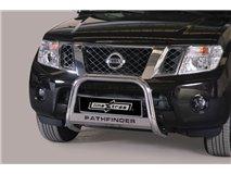 [49.NPF1 26/I] Big Bar U with legend Stainless Steel 63Mm Nissan Pathfinder 2011