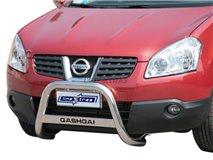 [49.NQ 02/I] Big Bar U with subtitle Nissan Qashqai stainless steel