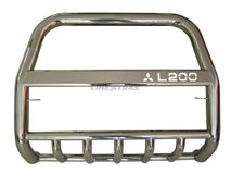 [48.ML3 02/I] U Grill With Leg With Prot. Inox L200 3rd Mod