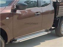 [107.FF 34SC] Estribos Aluminio Fiat Fullback Single Cab