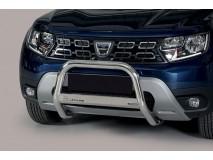 Big Bar U Dacia Duster 2018+ Stainless Steel W/EC
