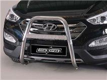 [42.SF3 01/I] U Grill C / Leg Inox Hyundai Santa Fe 2012