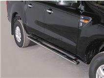 [46.MZ4 26/I/E] Big Bar U C / Leg Inox Mazda Bt-50 2012 C / Ece