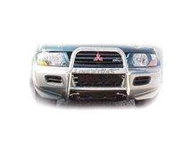 [48.MP4 01] Black U Grill Mitsubishi Pagero 00 »02 (V60 1M)
