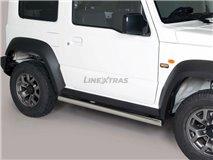 [52.SJ2 24/I] Suzuki Jimny Tubular Stainless Stirrups