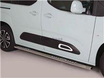 [103.CB3 27/I] Stainless Stirrups w / Aluminum Plate Citroen Berlingo 18