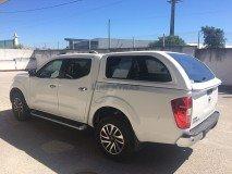 Hard-Top Nissan Navara NP300 D23 W/ Windows Linextras (Gel White)
