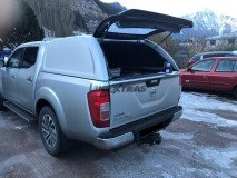 Hard-Top Nissan Navara NP300 D23 W/O Windows Linextras (Gel White)
