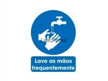 """Sticker 25x30Cm """"Wash Your Hands Often"""""""