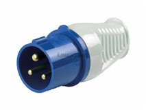 [17.A0043] Male Adapter Ce17 240V 16A