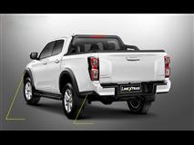 [50.OC5 417] TRIM KIT BACK ABS E&D BLACK  ISUZU D-MAX 2020