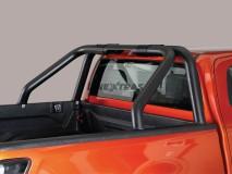 [50.OC5 39/P] ROLL-BAR BLACK ISUZU D-MAX 2020 D/CAB X/C