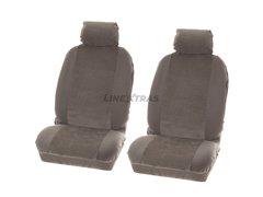 Car Seat Covers Denver [2 seats] 4 pcs Grey