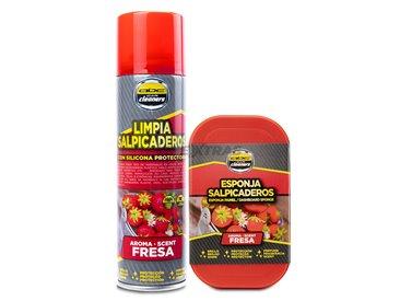 Spray and sponge kit for indoor plastics - STRAWBERRIES
