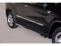 Side Steps Jeep Grand Cherokee 11-14 Stainless Steel DSP
