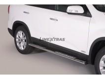 Side Steps KIA Sorento 12-15 Stainless Steel DSP