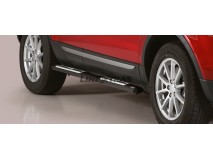 Side Steps Land Rover Evoque Stainless Steel DSP