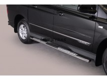 Side Steps Ssangyong Actyon Sports 2012+ Stainless Steel DSP