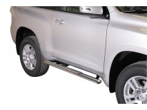 Side Steps Toyota Land Cruiser 150 09-13 3D Stainless Steel DSP