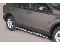 Side Steps Toyota Rav4 2013+ Stainless Steel DSP