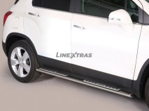 Side Steps Chevrolet Trax 2013+ Stainless Steel DSP