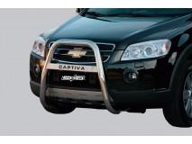 Bull Bar Chevrolet Captiva 06-10 Stainless Steel W/ Leg.