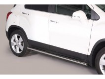 Side Steps Chevrolet Trax 2013+ Stainless Steel GPO