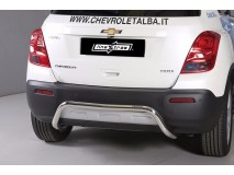 Rear Protection Chevrolet Trax 2013+ Stainless Steel 50MM