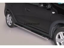 Side Steps Dacia Sandero Stepway 2013+ Stainless Steel GPO