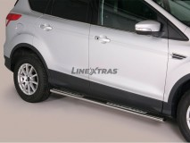 Side Steps Ford Kuga 2013+ Stainless Steel DSP