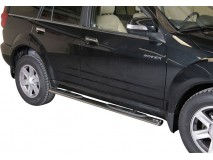 Side Steps Great Wall Hover 2010+ Stainless Steel GPO