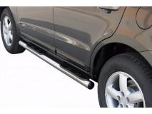 Side Steps Hyundai Santa Fe 06-10 Stainless Steel Tube 76MM