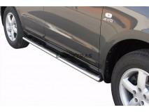 Estriberas Hyundai Santa Fe 06-10 Inox GPO
