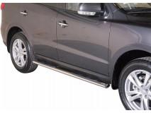 Estriberas Hyundai Santa Fe 10-12 Inox GPO
