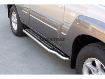 Side Steps Hyundai Terracan 2001+ Stainless Steel W/ Platform