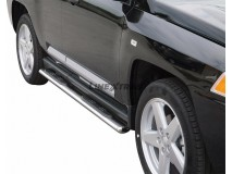 Side Steps Jeep Compass 07-10 Stainless Steel GPO