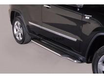 Side Steps Jeep Grand Cherokee 11-14 Stainless Steel W/ Platform