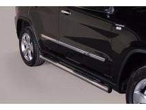 Side Steps Jeep Grand Cherokee 11-14 Stainless Steel Tube 76MM