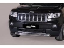 Front Protection Jeep Grand Cherokee 11-14 Inox 76ММ