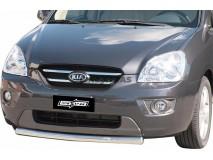 Front Protection KIA Carens 2008+ Inox 63ММ