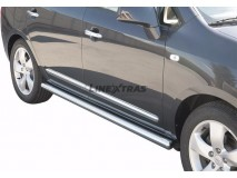 Side Protections KIA Carens 2008+ Stainless Steel Tube 63MM