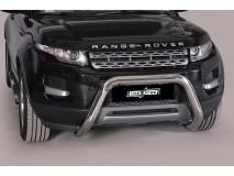 Big Bar U Land Rover Evoque Pure & Prestige 11-15 Stainless Steel 76MM W/O EC