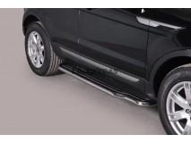 Side Steps Land Rover Evoque Pure & Prestige 11-15 Stainless Steel W/ Platform