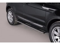 Side Steps Land Rover Evoque Pure & Prestige 11-15 Stainless Steel GPO