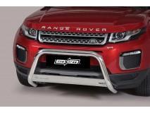 Big Bar U Land Rover Evoque 2016+ Stainless Steel W/ EC