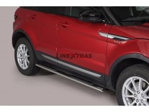Side Steps Land Rover Evoque 2016+ Stainless Steel GPO