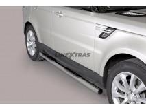 Side Steps Range Rover Sport 2014+ Stainless Steel Tube 76MM
